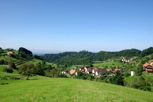 Point de vue sur Marzell & beyond