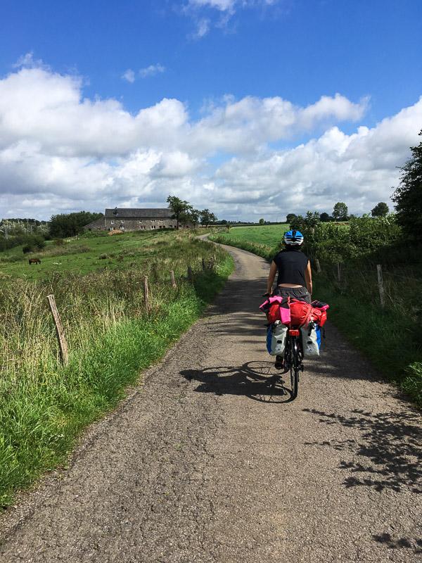 Bavière 2017 - Liaison vélo entre Eupen et Aix-la-Chapelle (Aachen). A quelques encablures de la frontière belgo-allemande.