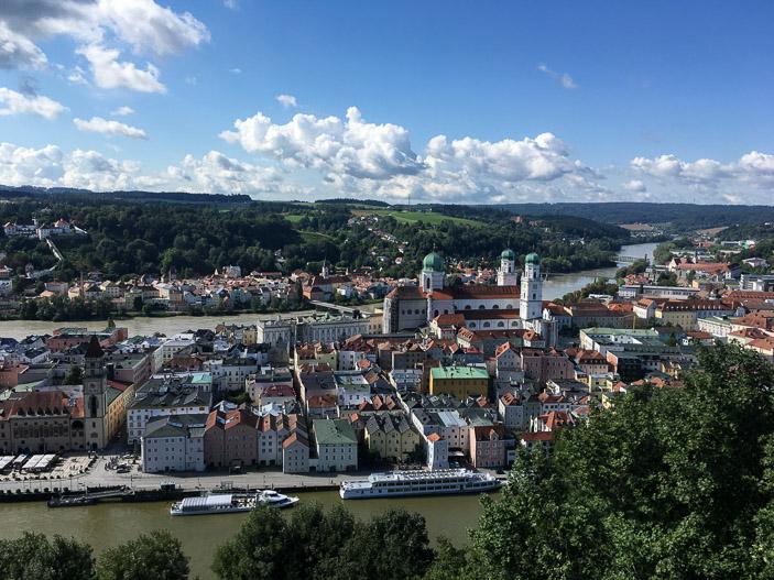 Passau, entre Danube et Inn