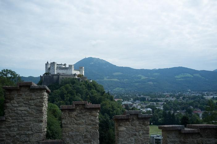 Le château de Salzburg