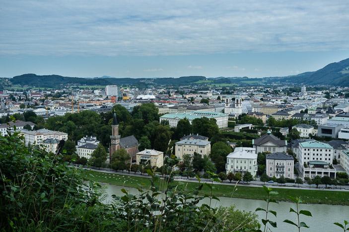 Vue sur Salzburg