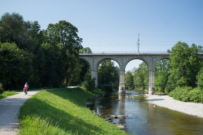 Pont ferroviaire à Traunstein