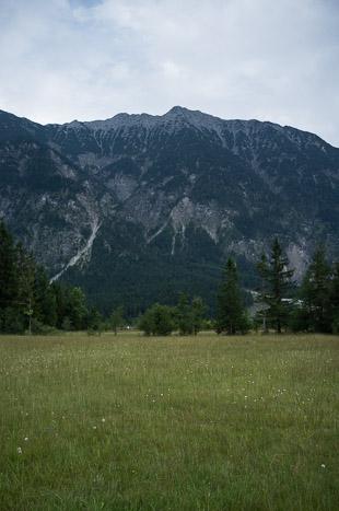La remontée de la vallée vers Garmish-Partenkirchen