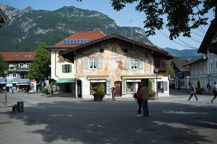 Le centre de Garmisch