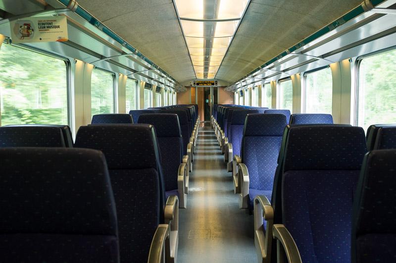Bavière 2017 - Train SNCB en direction d'Eupen