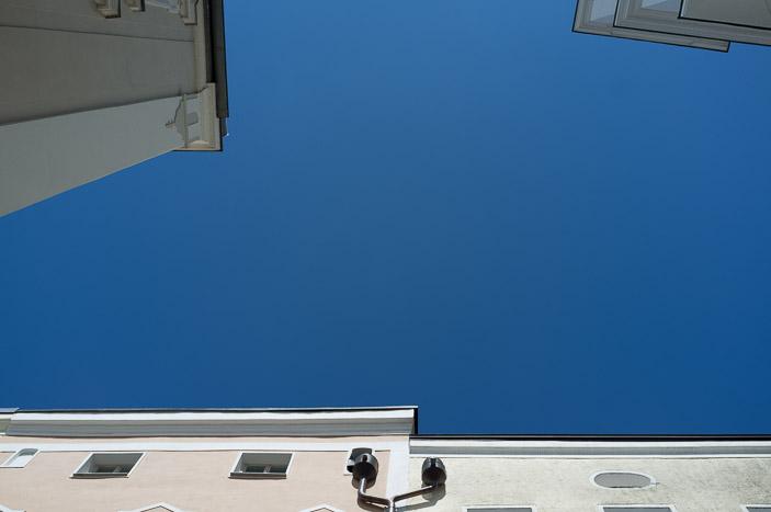 Ciel bleu !