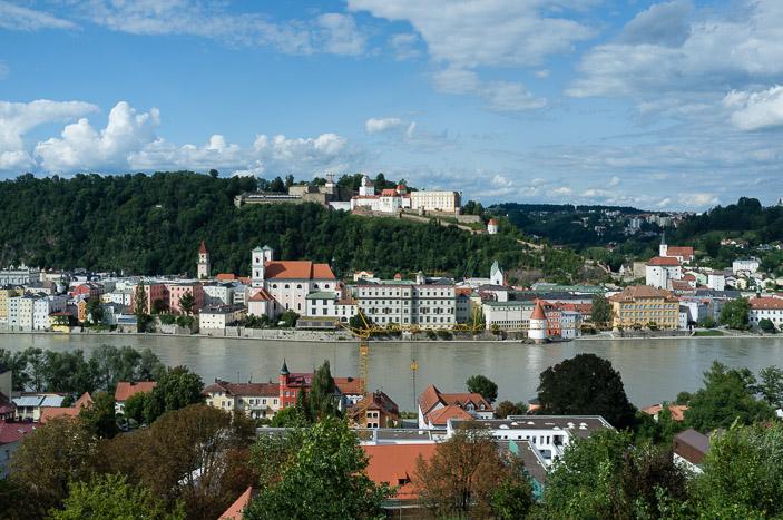 L'Oberhaus domine Passau