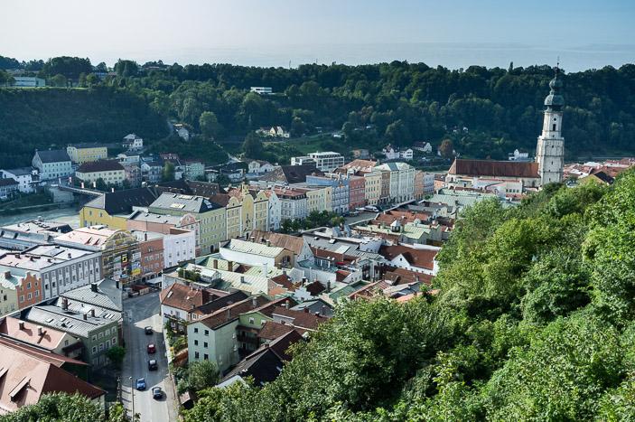 Burghausen, la vieille ville