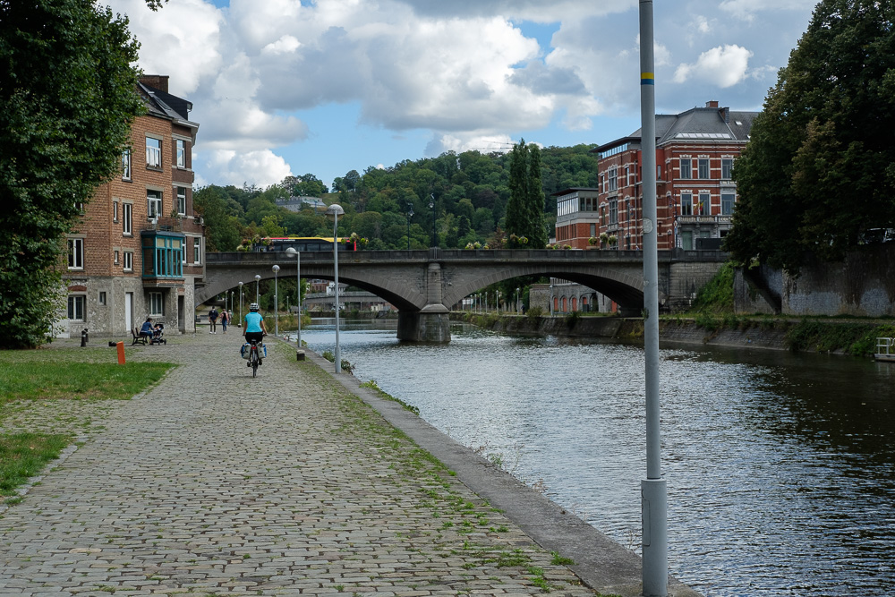 Namur, la Sambre